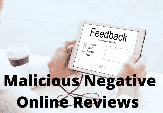 Businesses Report an Increase in malicious Negative Online Reviews