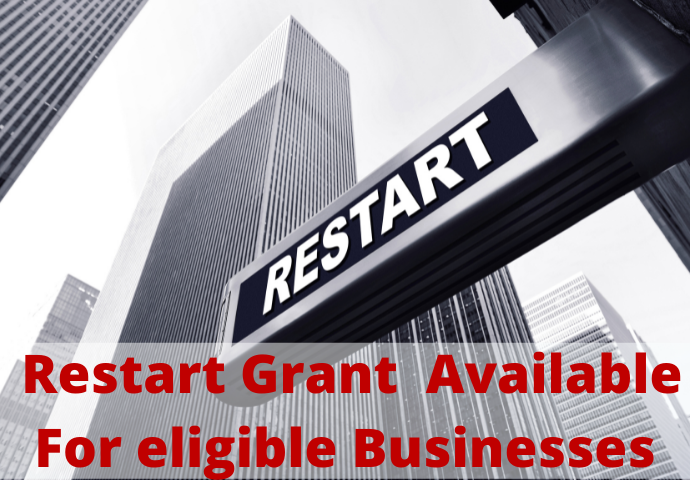 Restart Grant to Become Available For eligible Businesses